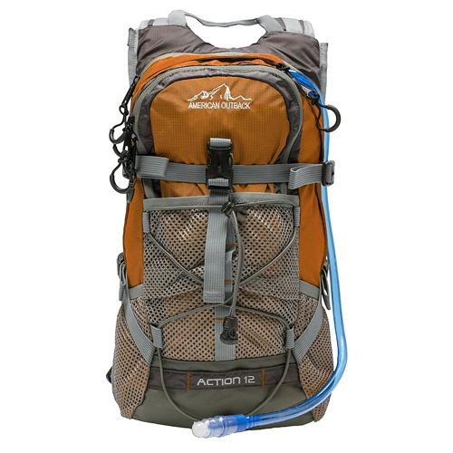 Diamond 2L Hydration Backpack, Orange, swatch
