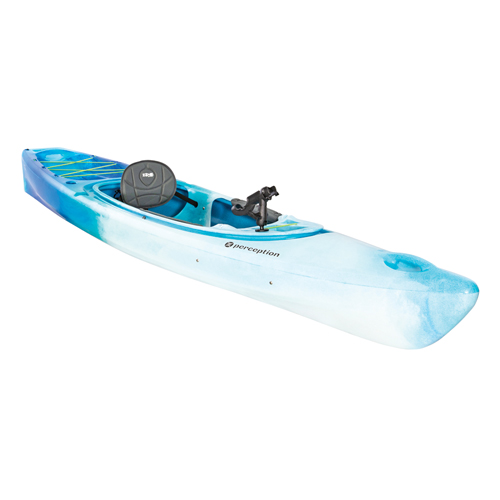 Sound 10.5 Sit-In Angler Kayak, Blue/White, swatch