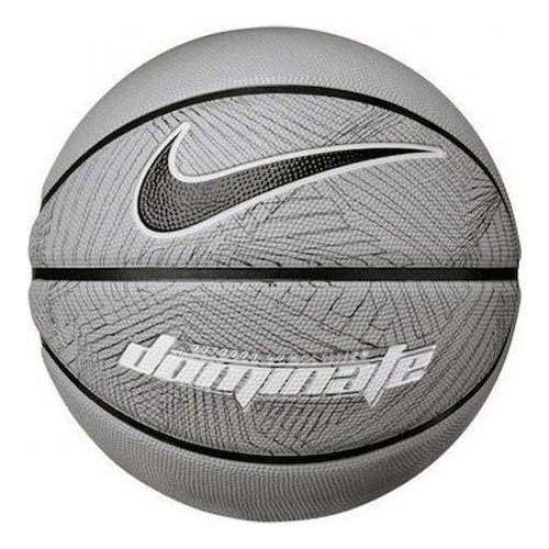 Dominate Official Basketball, Gray/Black, swatch