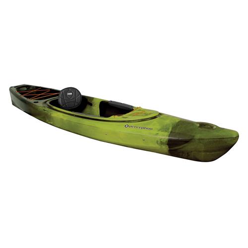 Sound 10.5 Sit-In Angler Kayak, Green/Blk, swatch