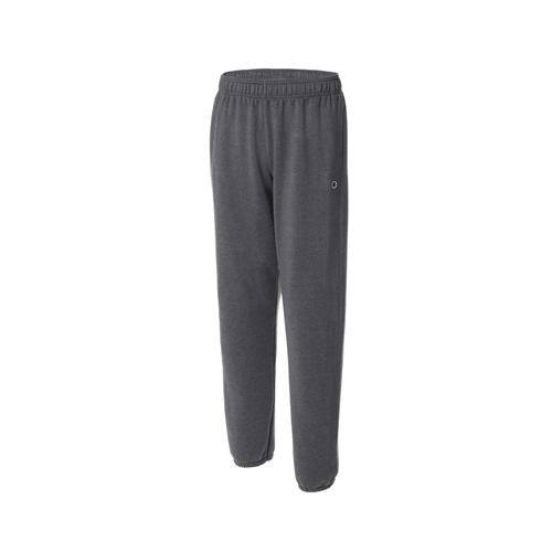 Men's Powerblend Relaxed Bottom Fleece Pants, Charcoal,Smoke,Steel, swatch