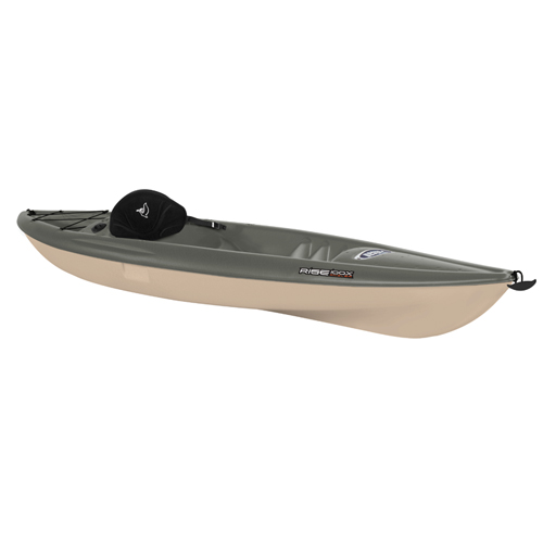 Rise 100X Sit-On-Top Angler Kayak, Black/Brown, swatch