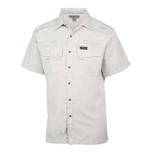 Men's Seacliff 2.0 Short Sleeve Fishing Shirt, White, swatch