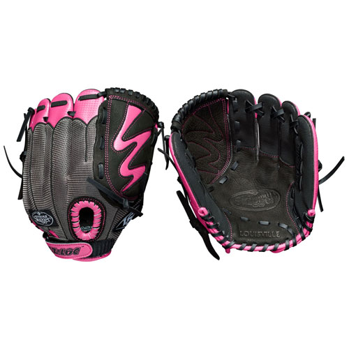 "Youth Fastpitch Diva 10.5"" Glove, Pink, swatch"