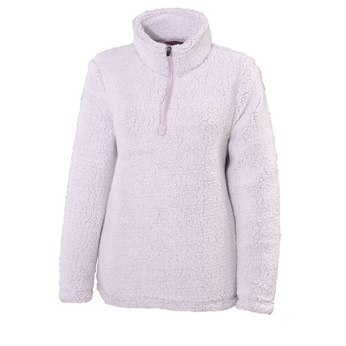 Women's Birdeye 1/4 Zip Fleece Jacket, Pink, swatch