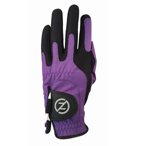 Men's Compression Left Hand Golf Glove, Purple, swatch