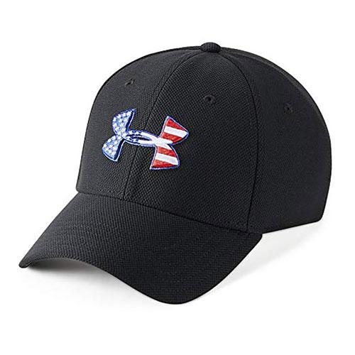 Men's Freedom Blitzing Cap, Black, swatch