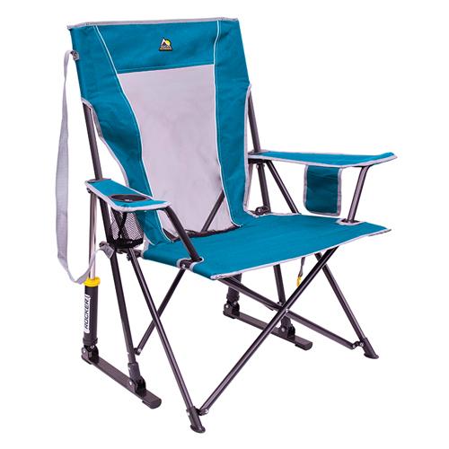 Comfort Pro Rocker Outdoor Chair, Blue, swatch