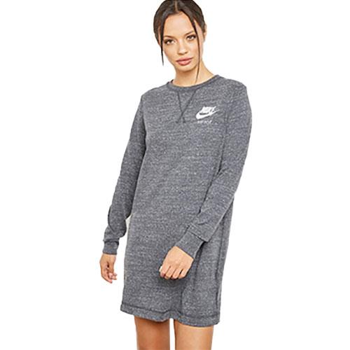 Women's SportSwear Gym Vintage Dress, Heather Gray, swatch