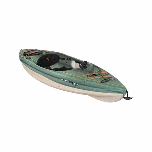 Ultimate 100se Sit-in Angler Kayak, Dkgreen,Moss,Olive,Forest, swatch