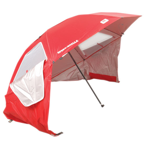 Portable Sun And Weather Shelter, Red, swatch