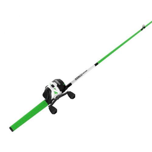 Roam 6' Spincast Combo, Green/White, swatch