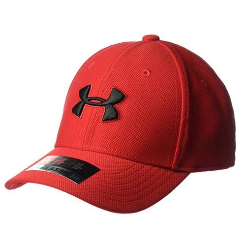 Boys' Blitzing 3.0 Cap, Red/Black, swatch