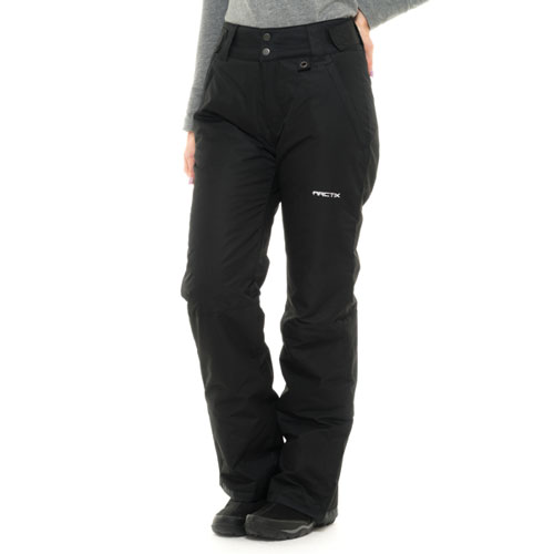 Women's Snow Ski Pants, Black, swatch