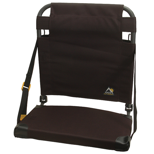 Bleacher Back Stadium Seat, Black, swatch