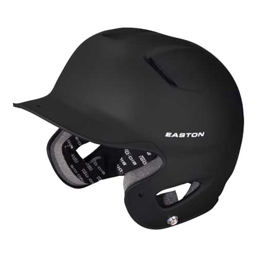 Junior Z5 Grip Batting Helmet, Black, swatch