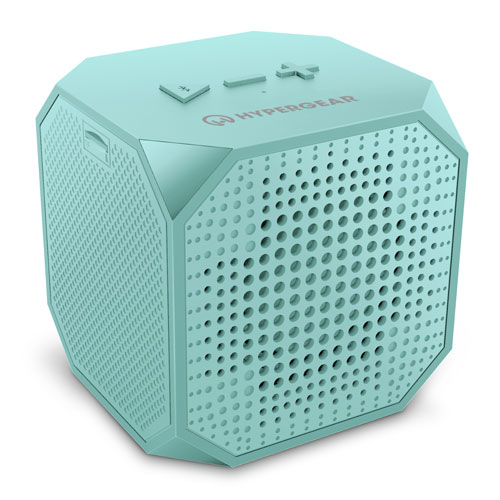 Sound Cube Wireless Speaker, Green Blue, Teal, swatch