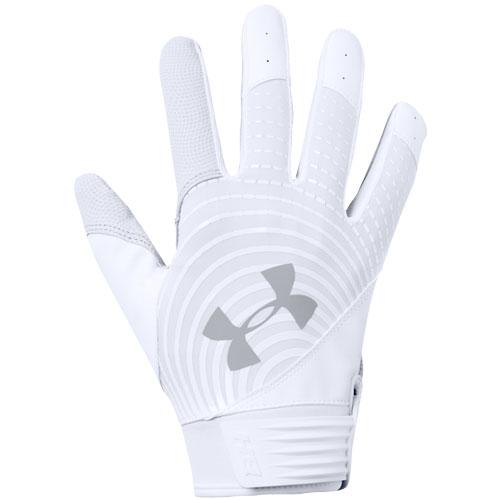 Youth Harper Hustle Batting Gloves, White/White, swatch