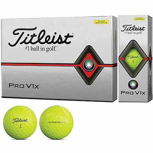 Pro V1X Optic Yellow Golf Balls, , large