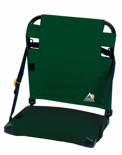 Bleacher Back Stadium Seat, Hunter Green, swatch