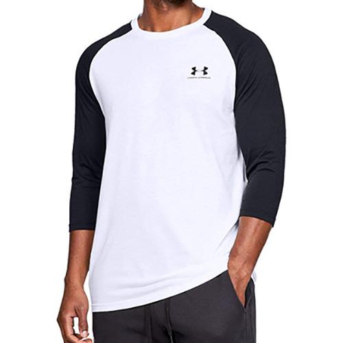 Men's Sportstyle Logo T-Shirt, White, swatch