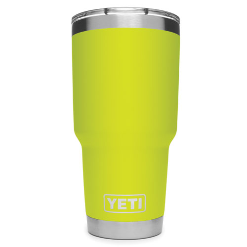 Rambler 30oz with MagSlider, Chartreuse, swatch