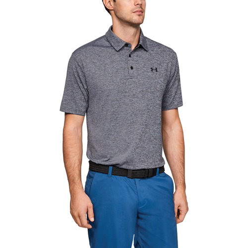 Men's Playoff 2.0 Polo, Black/Gray, swatch