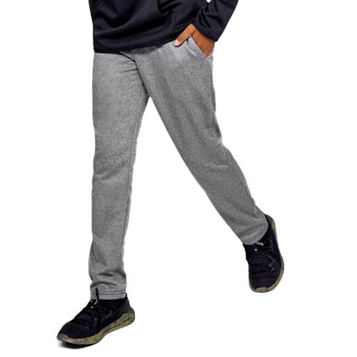 Boy's Armour Fleece Pant, Charcoal,Smoke,Steel, swatch