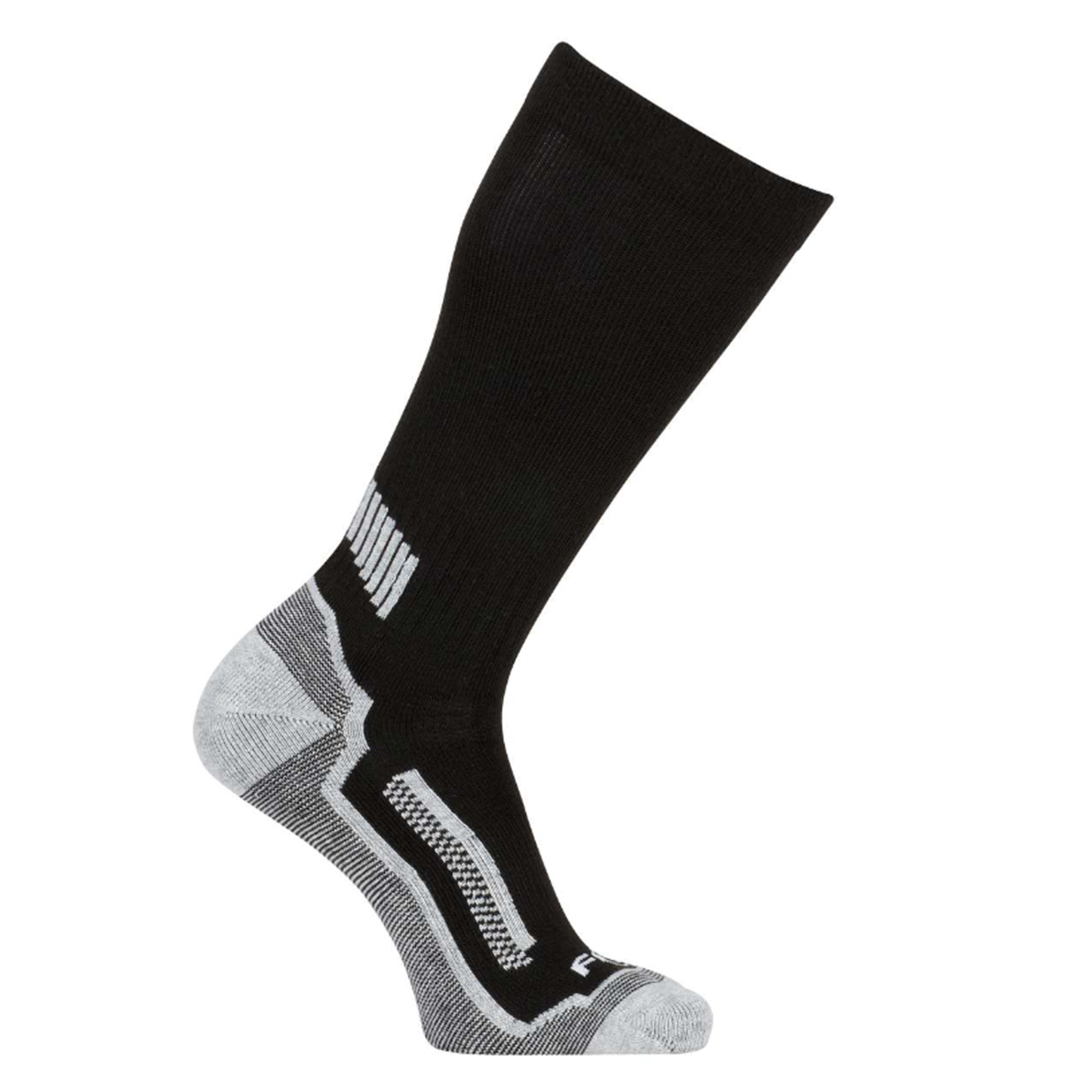 Force Performance Crew Socks 3-Pack, Black, swatch