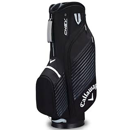Chev Cart Golf Bag, Black/Silver, swatch