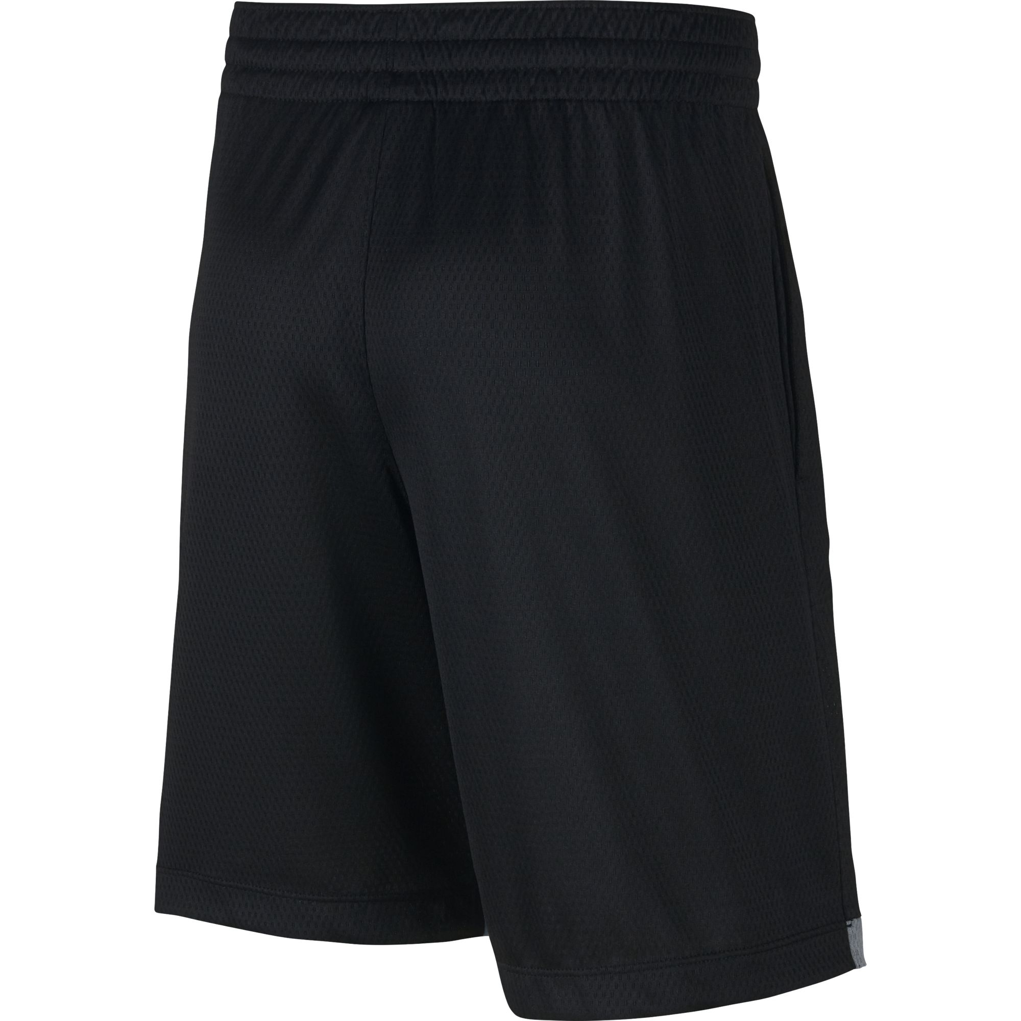 Boys' DriFit Training Shorts, Black, swatch