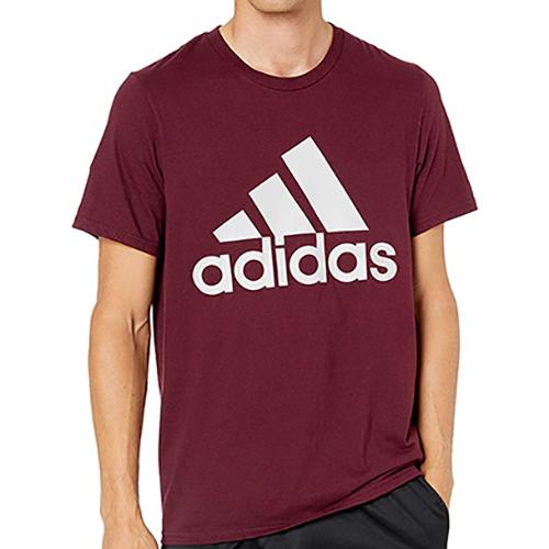 Men's Badge Of Sport Short Sleeve T-Shirt, Dk Red,Wine,Ruby,Burgandy, swatch