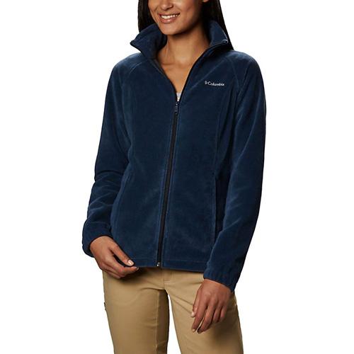 Women s Benton Springs Full Zip Fleece Jacket, Navy, swatch