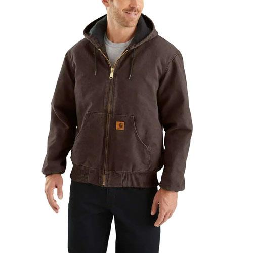 Men's Sandstone Active Jacket, Dark Brown,Dark Natural, swatch