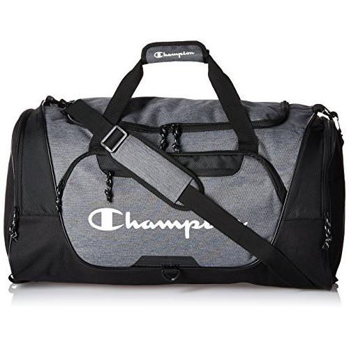 Expedition Duffel Bag, Heather Gray, swatch