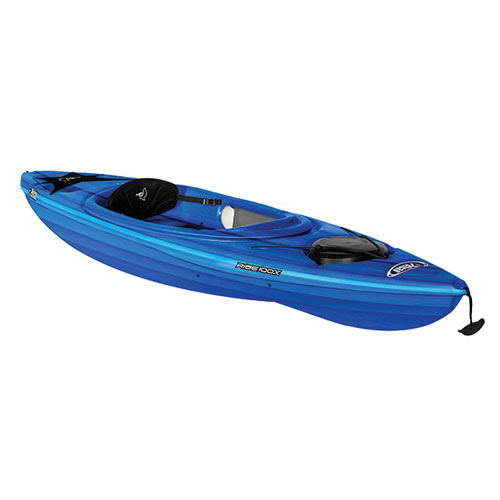 Rise 100x Fade Sit-in Kayak, Blue/White, swatch
