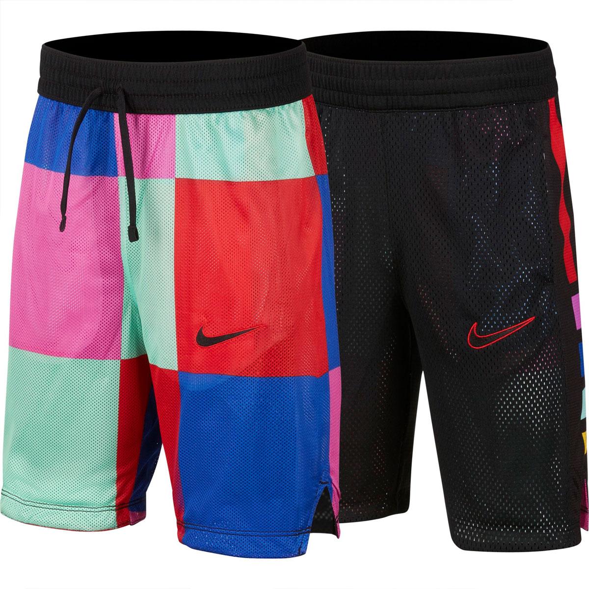 Boys' Elite Reversible Shorts, Black, swatch