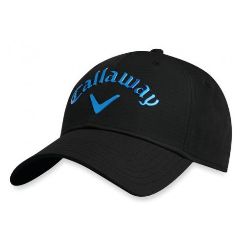 Men's Liquid Metal Hat, Black/Blue, swatch