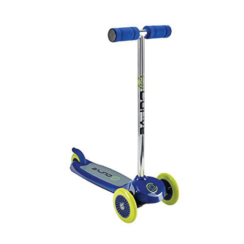 Tilt/Turn 3-wheel Scooter, Blue, swatch