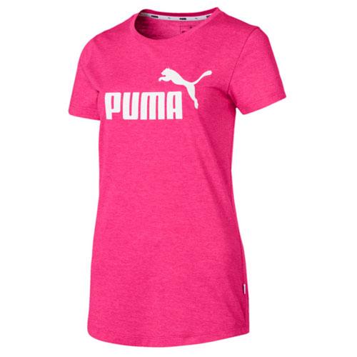 Women's Essentials + Heather Tee, Hot Pink,Fuscia,Magenta, swatch