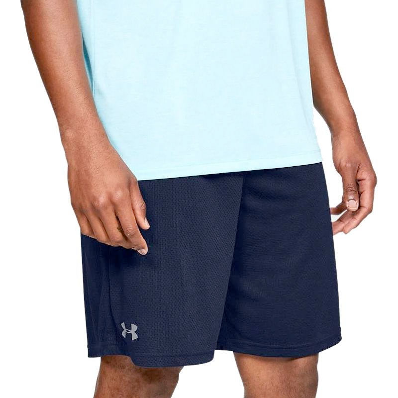 Men's Tech Mesh Shorts, Navy, swatch