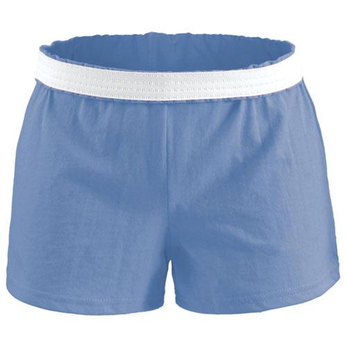 Women's Cheer Shorts, Med Blue,Slate,Baby,Cadet, swatch