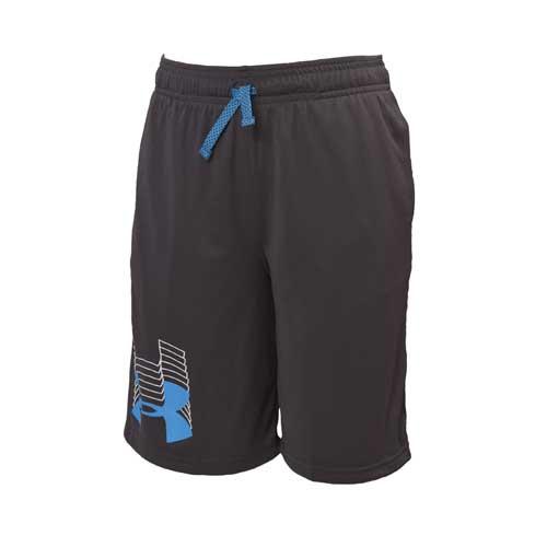 Boys' Prototype Logo Shorts, Black, swatch