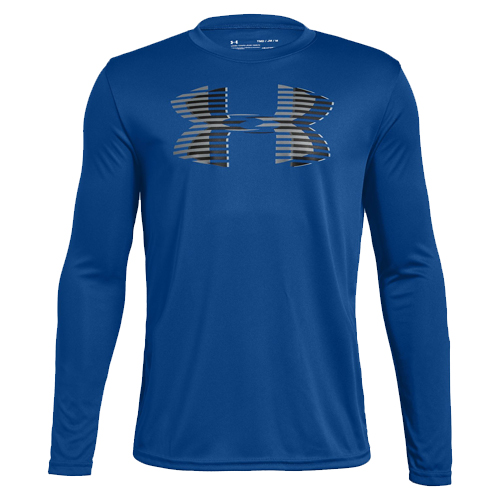 Boy's Under Armour Tech Big Logo, Royal Bl,Sapphire,Marine, swatch