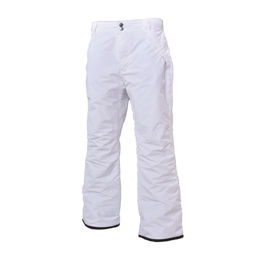Women's Insulated Snow Pants, White, swatch