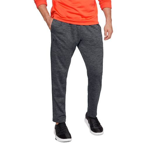 Men's Armour Fleece Twist Pants, Black, swatch