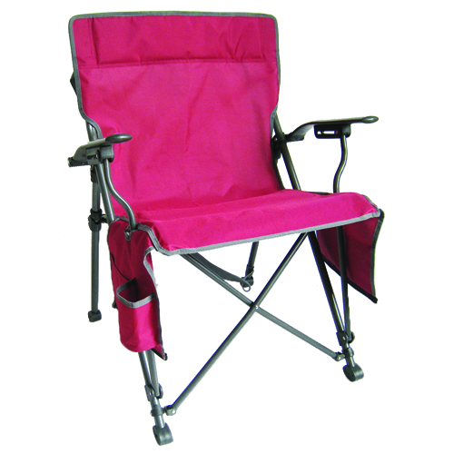 Zipper Close Hard Arm Chair, Dk Red,Wine,Ruby,Burgandy, swatch