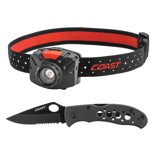 Fl70 Headlamp/Knife Combo, , large