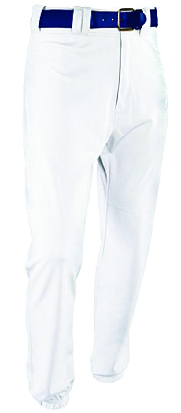 Men's Rod-Knit Baseball Pants, White, swatch