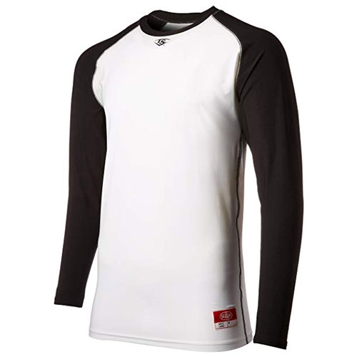 Power Core Raglan Shirt, White/Black, swatch
